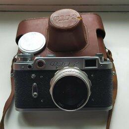 Пленочные фотоаппараты - Фотоаппарат ФЭД-2 (1961 г.), 0