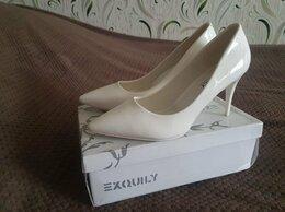 Туфли - Туфли лодочки белые, 0