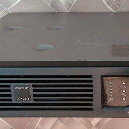Источники бесперебойного питания, сетевые фильтры - ИБП 750VA APC SUA750RMI2U неисправный, 0