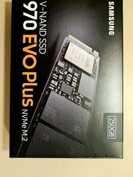 Внутренние жесткие диски - Samsung 970 EVO Plus 250gb (за 2шт, новые), 0
