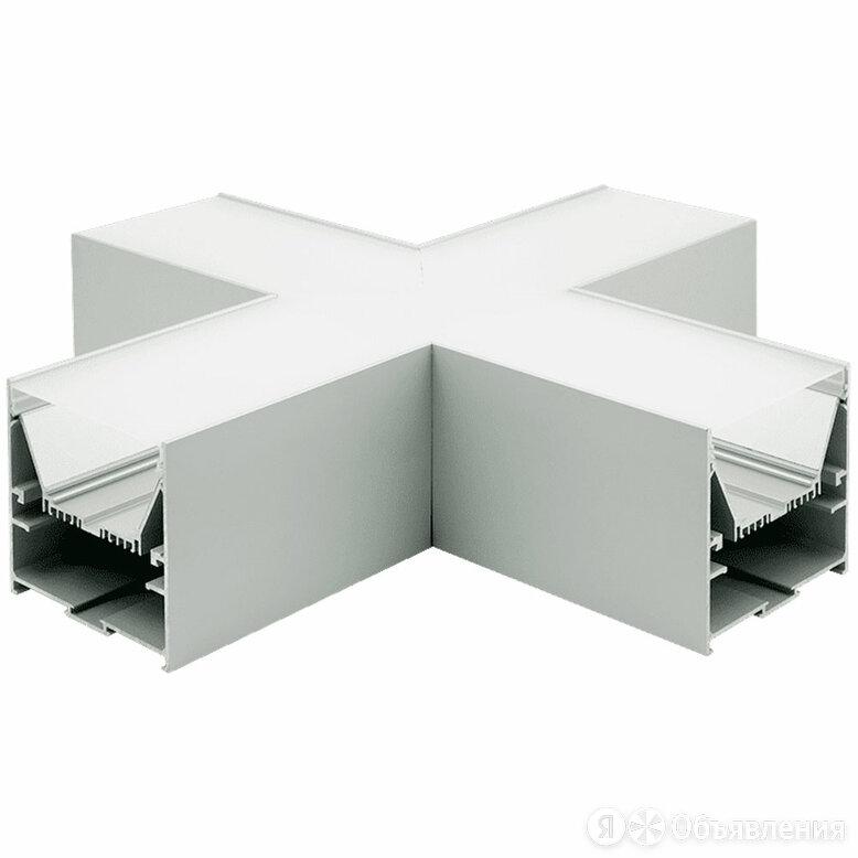 """Коннектор угловой X-образный Lumker """"L9086-X90"""". 350*350*86 мм по цене 7766₽ - Уголки, кронштейны, держатели, фото 0"""