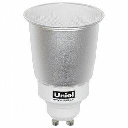 Лампочки - Лампа компактная люминесцентная Uniel  GU10 11Вт 4000K 06338, 0