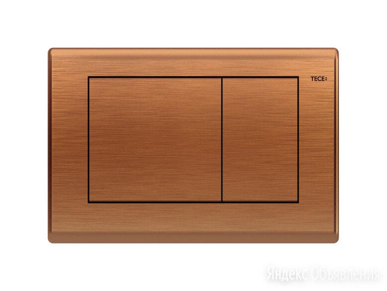 Кнопка смыва TECE TECEplanus 9240365 состаренная медь по цене 44603₽ - Комплектующие, фото 0