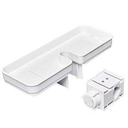 Полки, шкафчики, этажерки - Полка на душевую стойку для ванной Xiaomi, 0