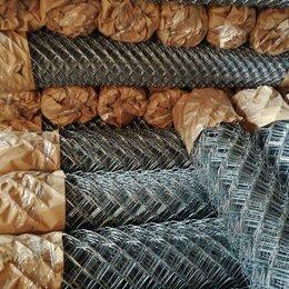 Заборчики, сетки и бордюрные ленты - Сетка рабица оцинкованная Боровичи, 0