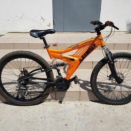 Велосипеды - Горный алюминиевый двухподвес, 0