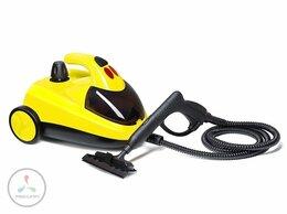 Пароочистители - Пароочиститель Kitfort КТ-908-2, жёлтый, 0