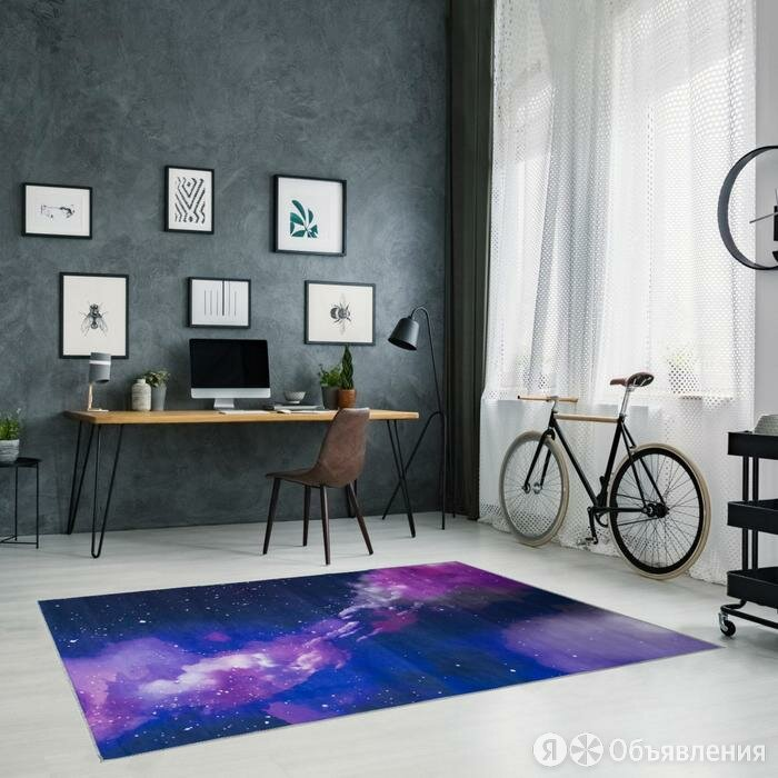 Ковер Этель 'Космос' 80*120 см, 700г/м2 по цене 1672₽ - Ковры и ковровые дорожки, фото 0
