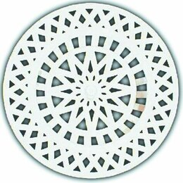 Шампуни - HL525 Пластмассовая сетка для улавливания волос и мелкого «мусора», 5/4&quot, 0