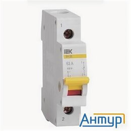 Концевые, позиционные и шарнирные выключатели - Iek Mnv10-1-025 Выключатель нагрузки (мини-рубильник) ВН-32 1Р 25А ИЭК, 0