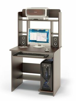 Компьютерные и письменные столы - Компьютерный стол КСТ-01.1+КН-12, 0