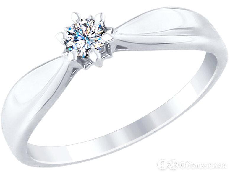 Помолвочное кольцо SOKOLOV 1011690_s_17 по цене 24290₽ - Комплекты, фото 0