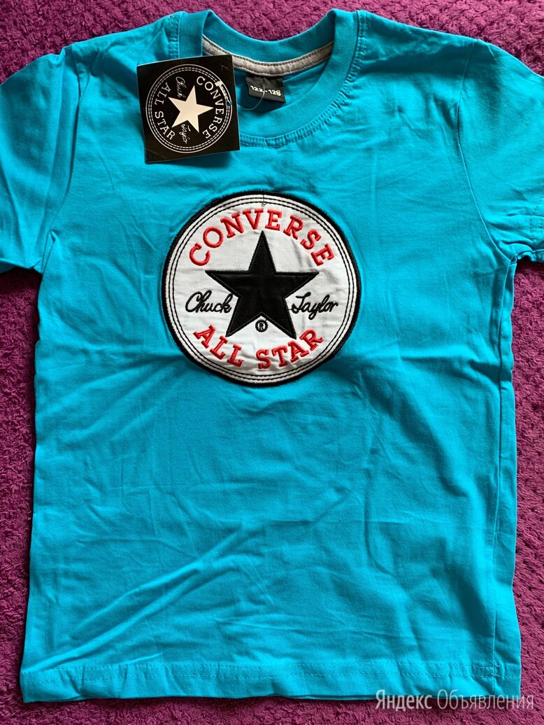 Футболка Converse  для мальчика новая по цене 250₽ - Футболки и майки, фото 0