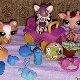 Игровые наборы и фигурки - Littlest pet shop (hasbro) lps зверюшка набор сафари стоячки, 0
