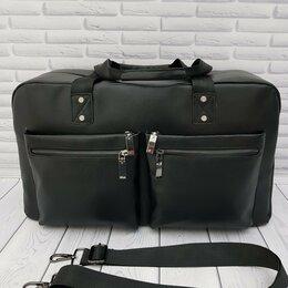 Дорожные и спортивные сумки - Мужская сумка из натуральной кожи , 0