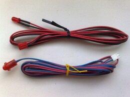 Радиодетали и электронные компоненты - Красные светодиодные индикаторы с разъёмом, 0