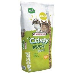 Корма  - Versele-Laga Crispy Muesli Rabbits 20 кг Корм для кроликов, 0