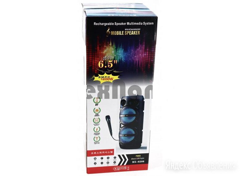 Колонка аккумуляторная, Bluetooth/USB/SD/FM/Микрофон в комплекте, высота - 50см по цене 2990₽ - Акустические системы, фото 0