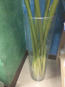 Вазы - Новые напольные стеклянные вазы 50 см , 0