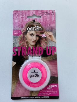 Окрашивание - Окрашивающий мелок для волос Strand Up, Розовый…, 0