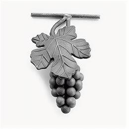 Садовые фигуры и цветочницы - Виноград с листом (200x140 мм), 0