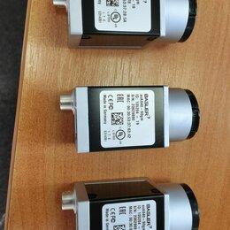 Камеры видеонаблюдения - Промышленная видеокамера машинного зрения BASLER acA640-90gm (есть 3 штуки), 0