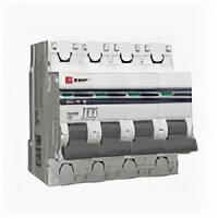 Защитная автоматика - Выключатель автоматический модульный 4п C 16А…, 0