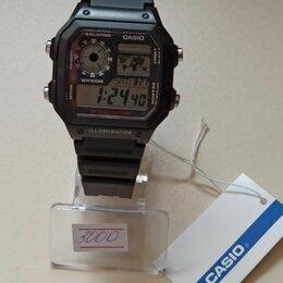 Наручные часы - Наручные часы casio ae-1200wh-1a, 0