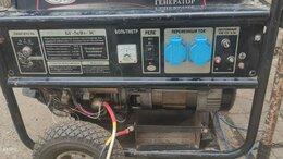 Электрогенераторы - Бензиновый генератор Comfort LT6500EB-3 БГ-5кВт-ЭС, 0