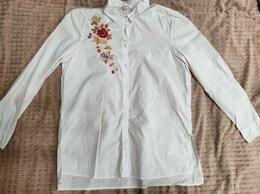 Блузки и кофточки - Женская рубашка с вышивкой Ostin XL, 0