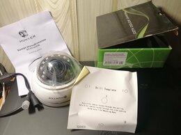 Камеры видеонаблюдения - Новая кyпoльнaя кaмepa с вapио oбъeктивом и ИK, 0