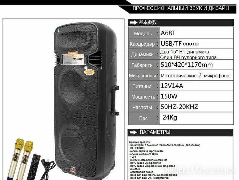 КОМБОУСИЛИТЕЛЬ колонка КАРАОКЕ TEMEISHENG A65 T по цене 35000₽ - Гитарное усиление, фото 0