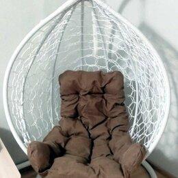 Подвесные кресла - Садовое кресло качели на стойке усиленное, 0