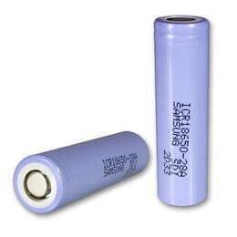 Батарейки - Аккумулятор Li-Ion 18650 для SAMSUNG…, 0