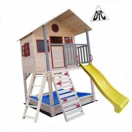 Игровые домики и палатки - Детский деревянный городок , 0