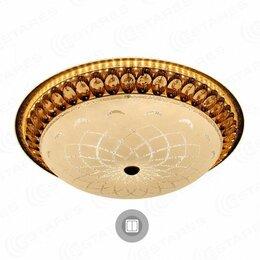 Люстры и потолочные светильники - Светильник Estares светодиодный MAROCCO GOLD R 72W круг 510x150 (КОД:715334), 0
