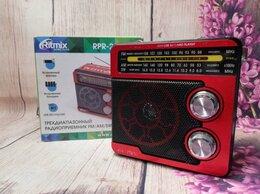 Усилители и ресиверы - Радиоприемник Ritmix RPR-202 красный, 0