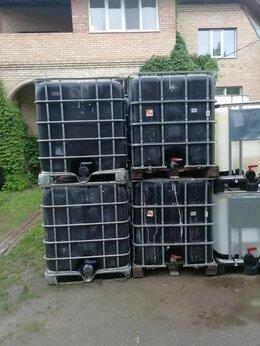 Бочки - Еврокуб 1000 литров чёрный, 0