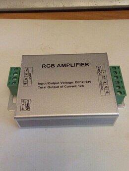 Светодиодные ленты - Усилитель RGB для LED лент,модулей,пикселей, 0