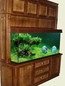 Аквариумы, террариумы, тумбы - Эксклюзивный аквариум встроенный в мебельную…, 0