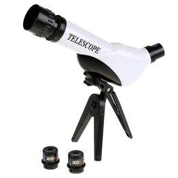 Телескопы - Телескоп Юный астроном, регулируемый, тренога арт.KY-Z5AB883-RU, 0