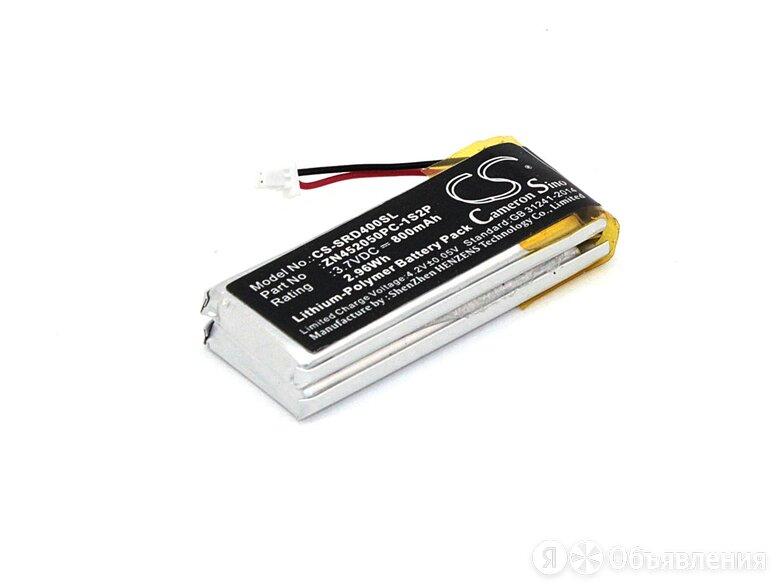 Аккумуляторная батарея CameronSino CS-SRD400SL для Cardo Scala Rider G4 800mah по цене 1290₽ - Аккумуляторные батареи, фото 0