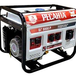 Электрогенераторы - Генератор бензиновый БГ 8000 Р Ресанта, 0