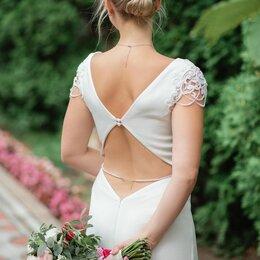 """Платья - Свадебное платье с открытой спиной, силуэт """"рыбка"""", 0"""