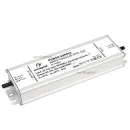 Блоки питания - Блок питания ARPV-UH24240-PFC-55C (24V, 10.0A, 240W) (ARL, IP67 Металл, 5 лет), 0