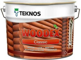 Масла и воск - Лазурь для защиты древесины Teknos Woodex…, 0