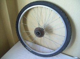 Обода и велосипедные колёса в сборе - Колесо 24 заднее (от горного велосипеда), 0