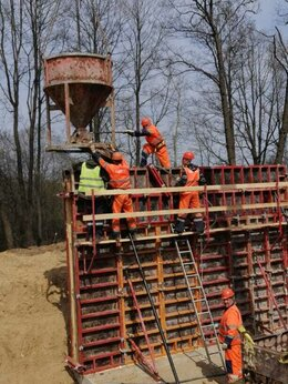 Строительная бригада - Рабочий на бетонно-монтажные работы, 0