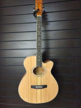"""Акустические и классические гитары - Homage LF-401C-N Фольковая 6-струнная гитара 40"""", 0"""
