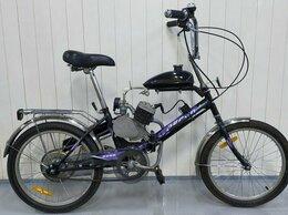 Мототехника и электровелосипеды - Складной велосипед с мотором Techno Fold, 0